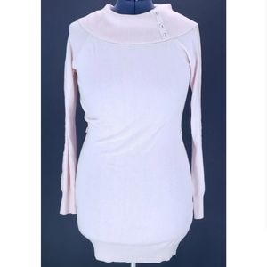 Candie's L Long Sleeve Cowl Neck Tunic Sweater